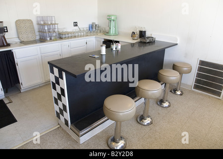 Old Style Retro Diner Counter Stock Photo 36765739 Alamy