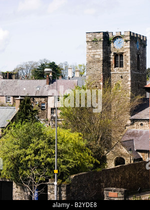The parish Church of St Mary and All Saints, Conwy, North Wales, UK