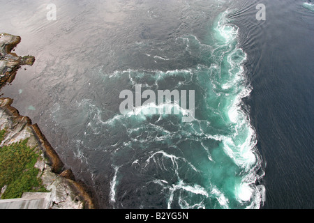 saltstraumen strongest maelstrom in the world whirlpools near bodo stock photo royalty free. Black Bedroom Furniture Sets. Home Design Ideas