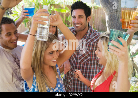 People at a Party - Stock Photo
