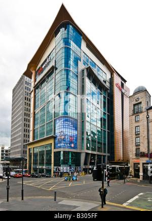 Cineworld in Renfrew Street Glasgow Scotland - Stock Photo