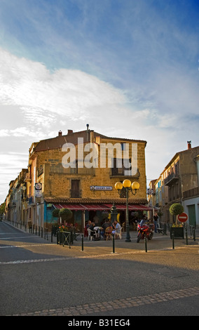 Juliem's Bar, Meze, Languedoc-Roussillon, France - Stock Photo