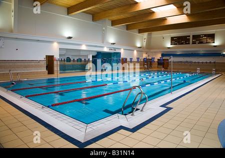 Modern fitness center interior design luxury gym stock for Sport swimming pool design