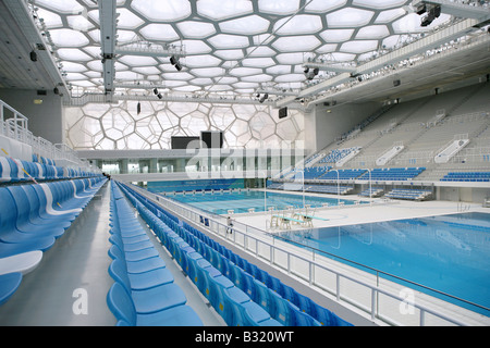 National Aquatics Center,China - Stock Photo