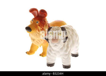 Toy Farm Animals - Stock Photo
