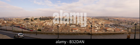panoramic view of Toledo, Spain - Stock Photo
