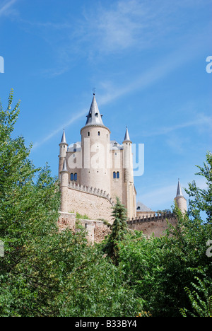 The Alcazar. Segovia. Castile Leon. Spain. - Stock Photo