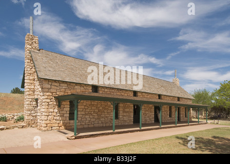 Texas Lubbock National Ranching Heritage Center Las Escarbadas - Stock Photo
