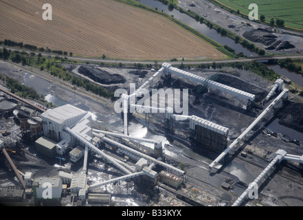 Kellingley Colliery, Knottingley, West Yorkshire, Northern England - Stock Photo