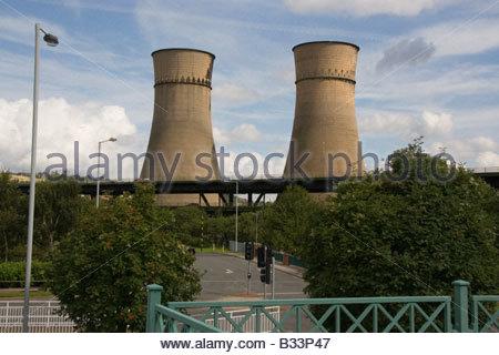Tinsley Towers Sheffield England Explosives - Stock Photo
