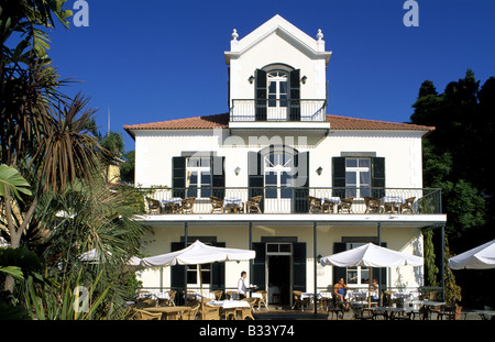 Hotel Quinta do Estreito nearby Camara de Lobos on Madeira Island - Stock Photo