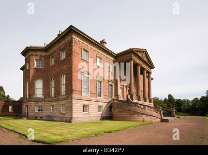 UK Cheshire Knutsford Tabley House 18th century mansion designed by John Carr of York 1769 - Stock Photo