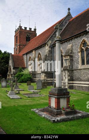 St. James the Less' Church, Pangbourne, Berkshire, UK - Stock Photo