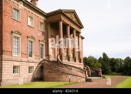 UK Cheshire Knutsford Tabley House 18th csntury mansion designed by John Carr of York 1769 - Stock Photo