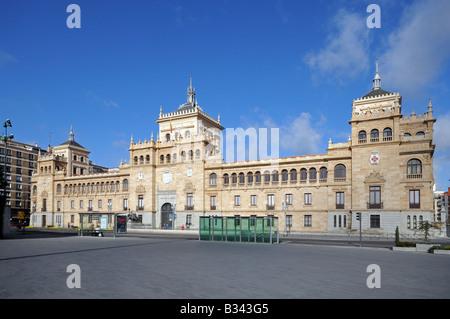 Academia del Arma de Caballería Academy of Armed Cavalry Plaza Zorrilla Valladolid Spain - Stock Photo