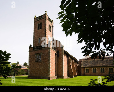 UK Cheshire Knutsford Tabley House St Peters Chapel 1675 - Stock Photo