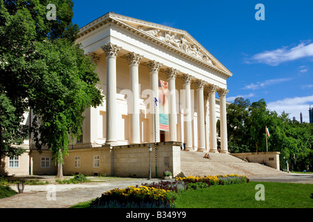 The National museum in Budapest Hungary - Stock Photo