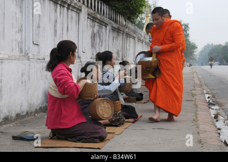 Collecting alms - Stock Photo