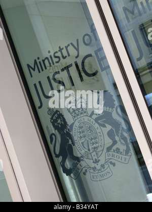 UK Ministry of Justice, Petty France, Westminster, London, England, Great Britain, United Kingdom, UK, Europe - Stock Photo