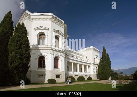 The Livadia Palace, Livadia, Ukraine - Stock Photo