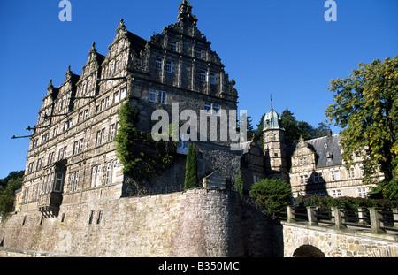 castle Haemelschenburg, Weser Hills, Lower Saxony, Germany