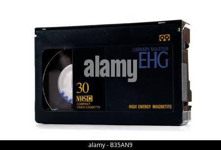 Mini VHS cassette - Stock Photo