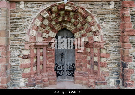 St Magnus cathedral Kirkwall Orkney Scotland - Stock Photo