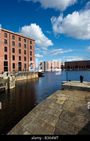 The Albert Dock Liverpool UK - Stock Photo
