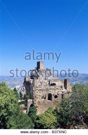 La Iruela, Castle - Stock Photo