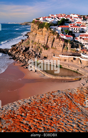 Natural Pool Azenhas Do Mar Lisbon Coast Portugal Stock Photo Royalty Free Image 39823717