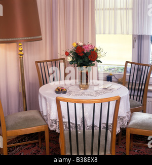 typical self furnished room in a retirement home, Germany - Stock Photo