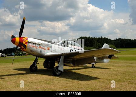 North American Aviation P-51 Mustang - Stock Photo