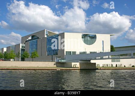 Deutschland, Germany, Berlin das neue Kanzleramt, The German Chancellery - Stock Photo