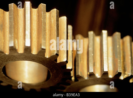 Gears Mechanical Gear - Stock Photo