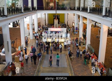 Main hall Science Museum Kensington London - Stock Photo