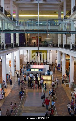Main hall - Science Museum - Kensington - London - Stock Photo
