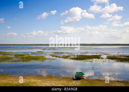 Belize, Crooked Tree Wildlife Sanctuary - Stock Photo