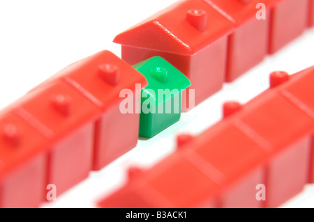House downsize - Stock Photo