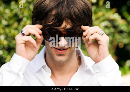 Richard Ashcroft lead singer of top UK band The Verve - Stock Photo