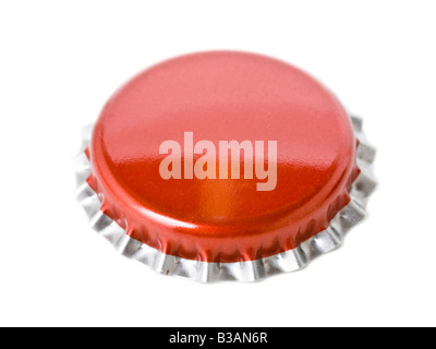 Metal bottle cap - Stock Photo