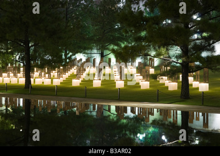 Oklahoma City National Memorial - Stock Photo