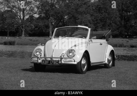 Volkswagen Beetle Cabriolet. - Stock Photo