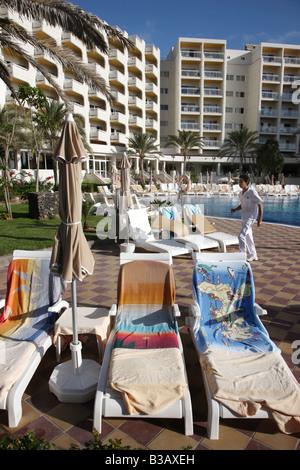 ESP Spain Canary Islands Fuerteventura Riu Palace Tres Islas Hotel - Stock Photo