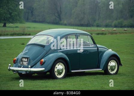 Volkswagen Beetle 1500 of 1967. - Stock Photo