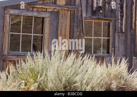 Scene In Bodie CA Ghost Town - Stock Photo