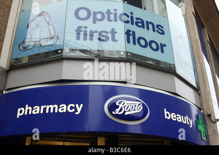 A Boots retail outlet, London, England, U.K. - Stock Photo