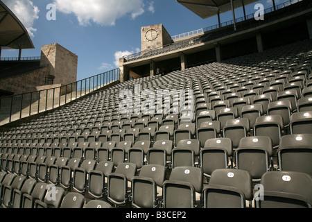 Olympia Stadium in Berlin, Germany - Stock Photo