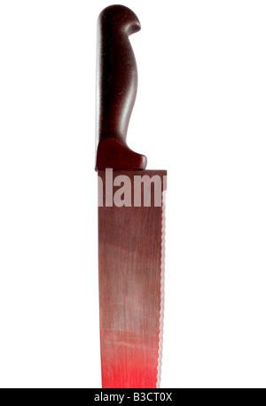 Knife crime - teenage murders - Stock Photo