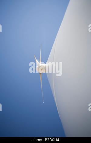 Wind turbine, close-up - Stock Photo
