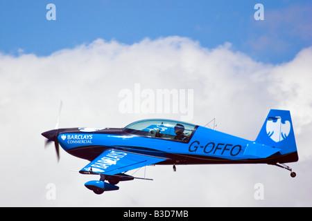 The Blades Aerobatic Team at the Wings and wheels display at Dunsfold Surrey UK 2008 - Stock Photo